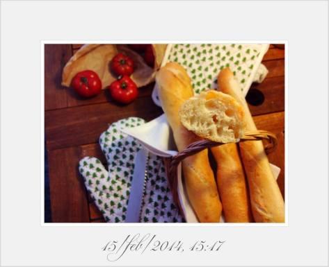 Le gros pain Kayser alveoli