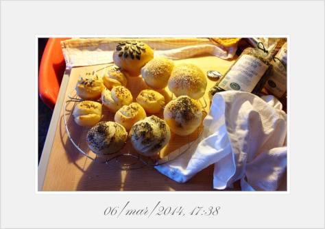 Petit pains (sans lardons et noix de pecan)